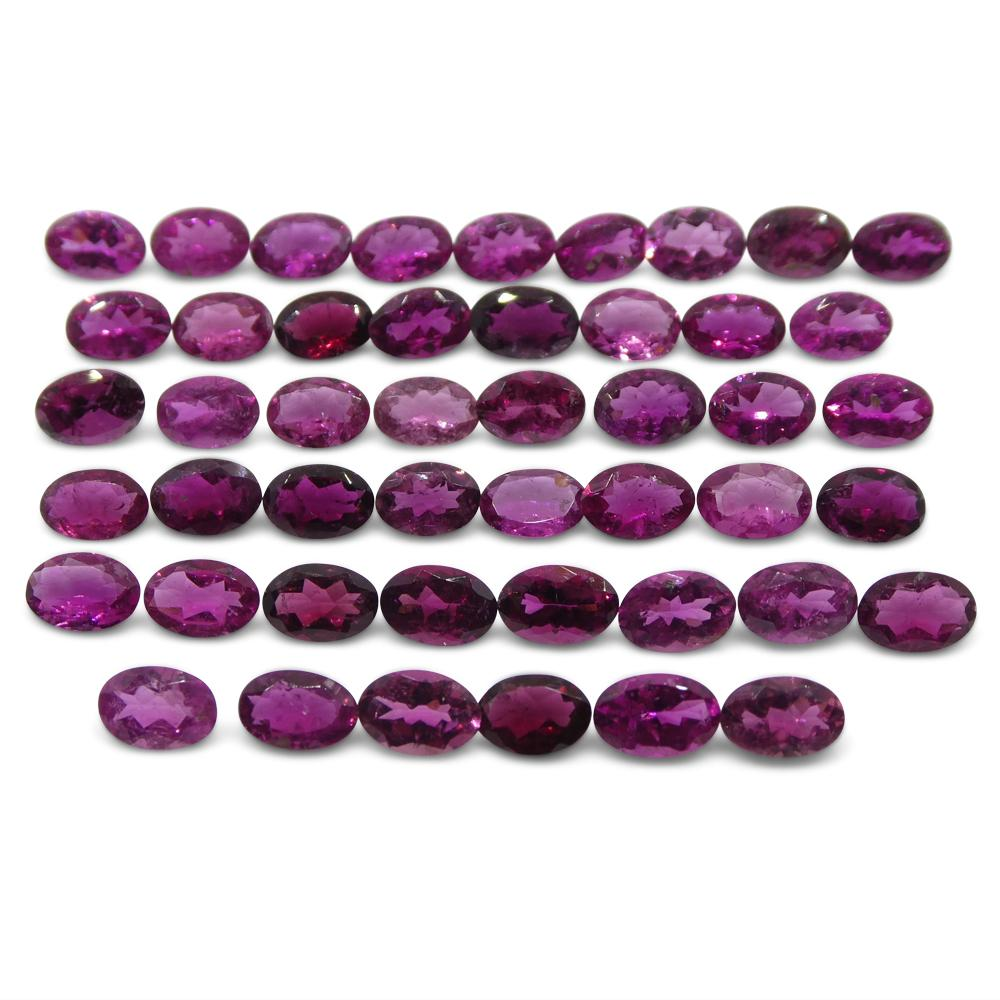 20.22 ct Pink Tourmaline Oval Wholesale Lot