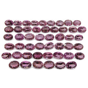 Baby Pink Tourmaline 36.36 cts 7.00x5.00x3.00mm Oval Pink  $910