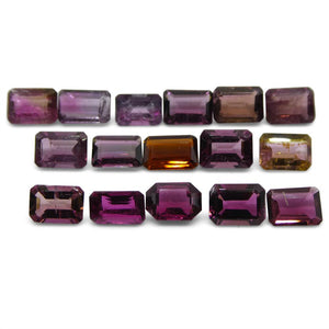 Pink Tourmaline 13.64 cts 7.00x5.00x3.00mm Emerald Cut Pink   $210