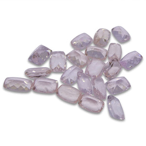 15.73 ct Morganite Rectangular Cushion Wholesale Lot