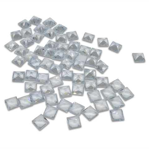 17.58 ct Aquamarine Square Wholesale Lot
