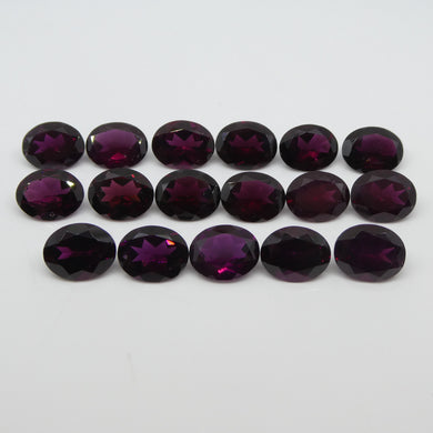 Rhodolite Garnet 50.58cts 10.00x8.00x4.75mm Oval Range: Purple - Red Purple $260