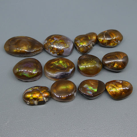 90.33ct Mexican Fire Agate Freeform Wholesale Lot