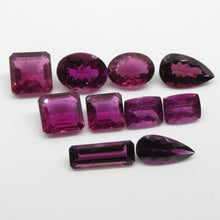 35.83ct Pink Tourmaline Pear/Cushion/Square/Oval/Emerald Cut Wholesale Lot