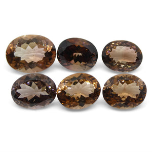 17.89ct Peach Tourmaline Oval Wholesale Lot - Skyjems Wholesale Gemstones