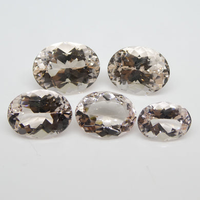 41.87ct Morganite Oval Wholesale Lot - Skyjems Wholesale Gemstones