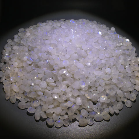 4160ct Rainbow Moonstone Oval Faceted Wholesale Lot