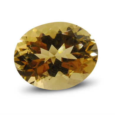 Heliodor 3.43 cts  Oval Yellow  $105