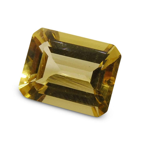 2.85 ct Octagon Heliodor/Yellow Beryl