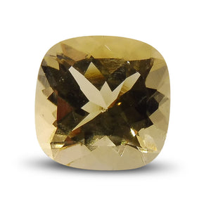 2.05 ct Cushion Heliodor/Yellow Beryl - Skyjems Wholesale Gemstones