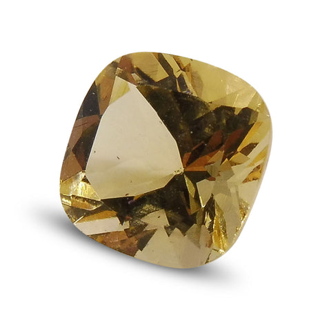 2.05 ct Cushion Heliodor/Yellow Beryl