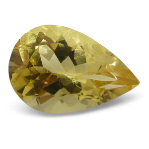 2.71 ct Pear Heliodor - Skyjems Wholesale Gemstones