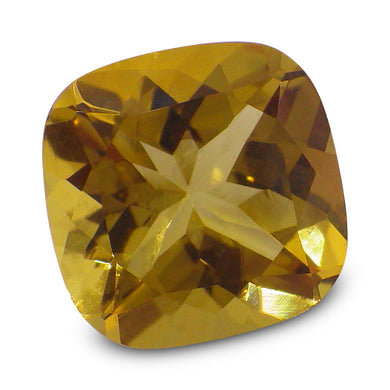 2.95 ct Cushion Heliodor / Yellow Beryl - Skyjems Wholesale Gemstones