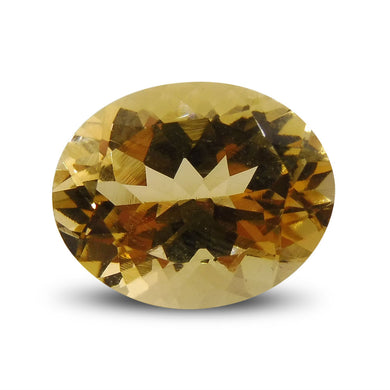 2.94 ct Oval Heliodor / Yellow Beryl - Skyjems Wholesale Gemstones
