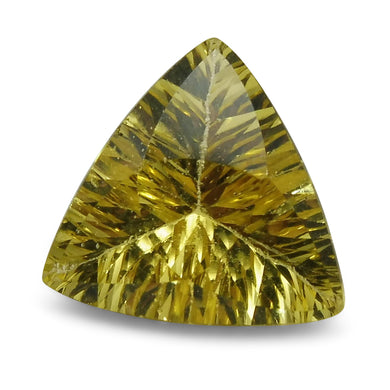 2.01 ct Triangular Heliodor/Golden Beryl CGL-GRS Certified - Skyjems Wholesale Gemstones