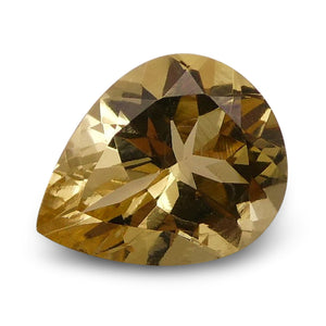 Heliodor 1.92 cts 10.07x7.99x4.90mm Pear Yellow  $100