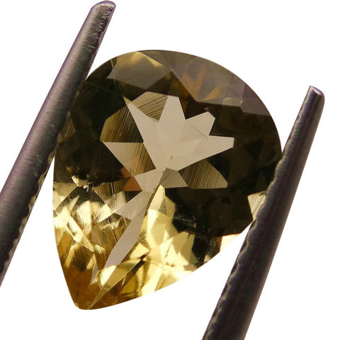 1.75 ct Pear Heliodor / Golden Beryl
