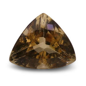 Golden Beryl / Heliodor 5.18 cts 12.61x10.54x7.95mmmm Trillion / Triangle Yellow  $235