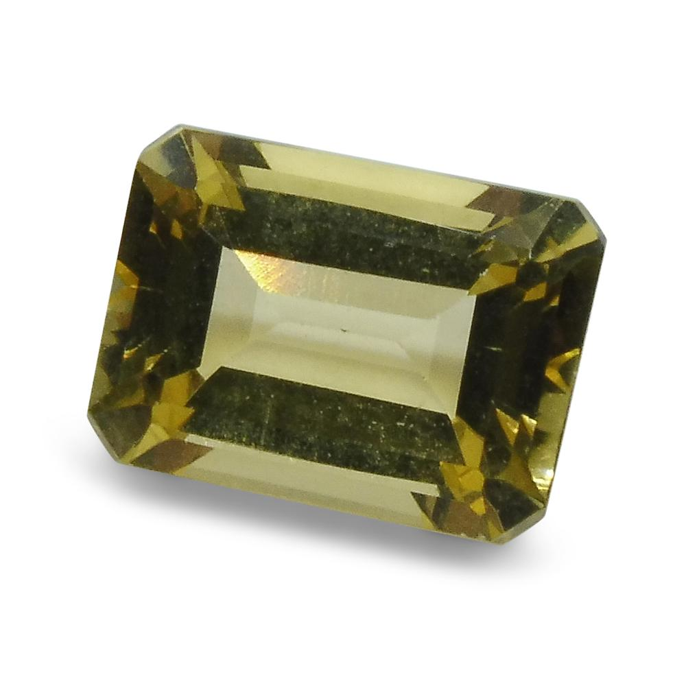 1.4 ct Heliodor 8x6mm Octagon
