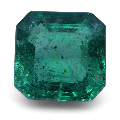 Emerald 1.85 cts 7.34x7.15x4.68mm Cut-Corner Square Step Cut Green  $446