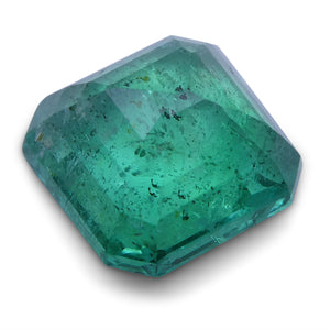 1.85 ct Square Emerald IGI Certified
