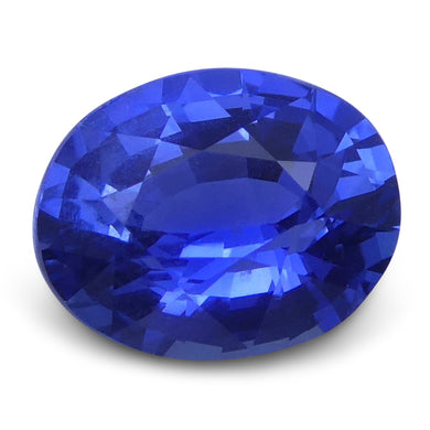 Blue Sapphire 0.99 cts 6.73x5.35x3.46mm Oval Mixed Cut Blue  $735