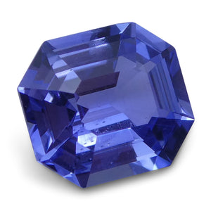 1.03 ct Emerald Cut Blue Sapphire IGI Certified Unheated