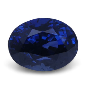 Blue Sapphire 1.19 cts 6.59x4.98x4.49mm Oval Mixed Cut Blue  $900