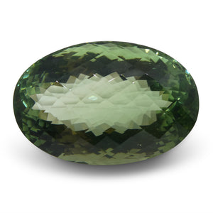 World's Largest Gem Quality Green Andesine 62.89 cts 29.40x19.42x18.02mm Oval Green  $7550