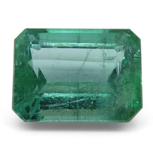 Emerald 6.35 cts 12.19x9.18x6.97mm Cut-Cornered Rect. Step Cut Green  $5300