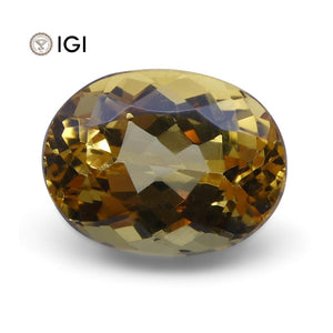 4.50 ct Oval Precious Topaz IGI Certified - Skyjems Wholesale Gemstones