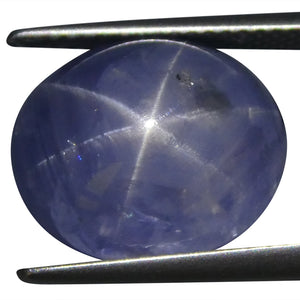 Star Sapphire 17.98 cts 13.71x11.54x10.38mm Oval Cabochon Blue  $3000