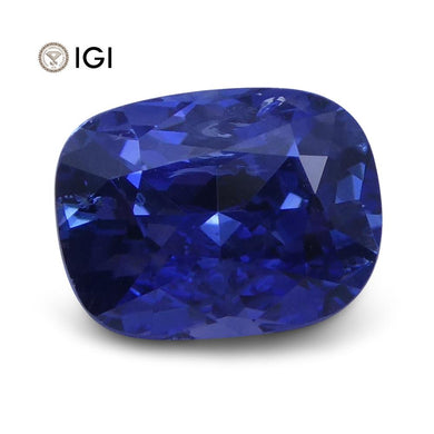1.63 ct Cushion Blue Sapphire IGI Certified - Skyjems Wholesale Gemstones