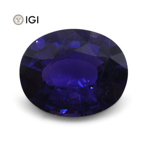 1.67 ct Color Change Sapphire Oval IGI Certified - Skyjems Wholesale Gemstones