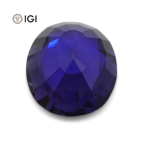 1.67 ct Color Change Sapphire Oval IGI Certified
