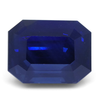 Sapphire 6.38 cts 10.96x8.22x7.00mm Cut-Cornered Rectangular Blue  $9570