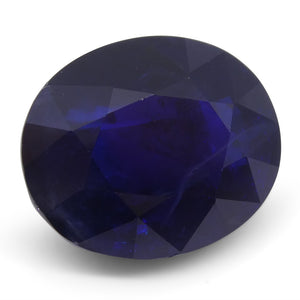10.62 ct Sapphire Oval IGI Certified Ethiopian, Unheated