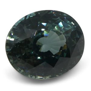 5.40 ct Sapphire Oval IGI Certified Ethiopian, Unheated