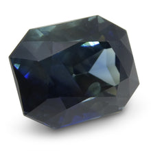 8.58 ct Sapphire Emerald Cut IGI Certified Ethiopian, Unheated