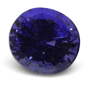 2.39 ct Color Change Sapphire Oval IGI Certified Unheated