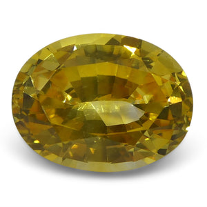 Yellow Sapphire 2.39 cts 8.95x6.84x4.55mm Oval Yellow  $1490