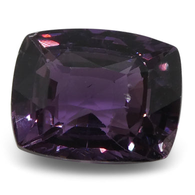 2.44 ct Purple Sapphire Cushion IGI Certified Sri Lankan, Unheated - Skyjems Wholesale Gemstones