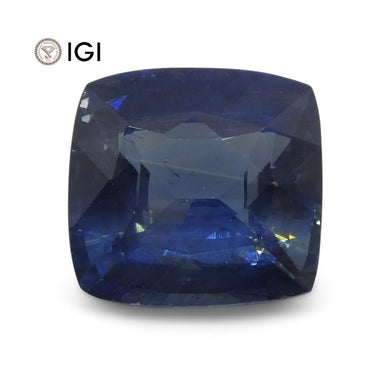 1.98 ct Blue Sapphire Cushion IGI Certified Ethiopian - Skyjems Wholesale Gemstones
