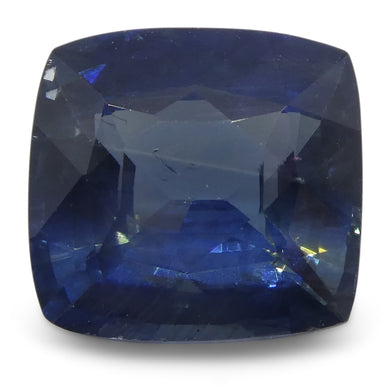 Blue Sapphire 1.98 cts 7.18x6.80x4.20mm Cushion Blue  $1390