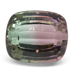 28.78 ct Cushion Tourmaline IGI Certified Bi-Color/'Watermelon' - Skyjems Wholesale Gemstones