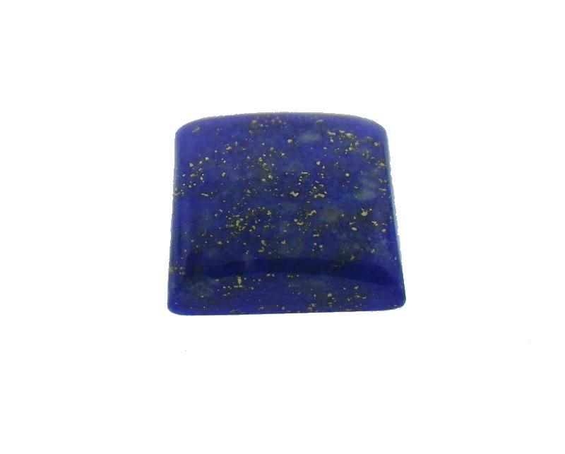 6.23 ct Square Natural Fine Blue Lapis Lazuli Gemstone