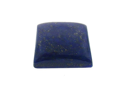 12.96 ct Square/Cushion Natural Fine Blue Lapis Lazuli Gemstone - Skyjems Wholesale Gemstones