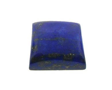 16.44 ct Square/Cushion Natural Fine Blue Lapis Lazuli Gemstone - Skyjems Wholesale Gemstones
