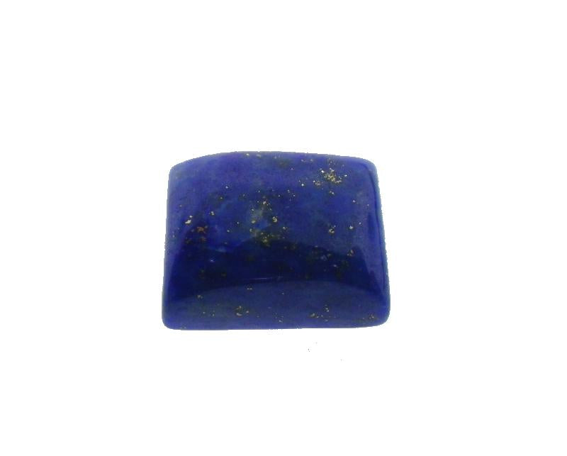 4 ct Rectangle Natural Fine Blue Lapis Lazuli Gemstone