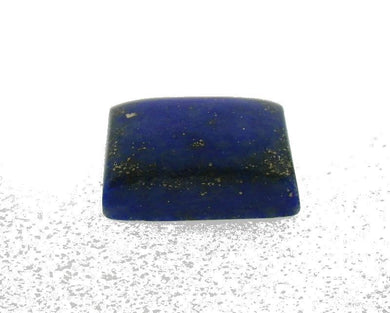7.52 ct Rectangle/Cushion Natural Fine Blue Lapis Lazuli Gemstone - Skyjems Wholesale Gemstones